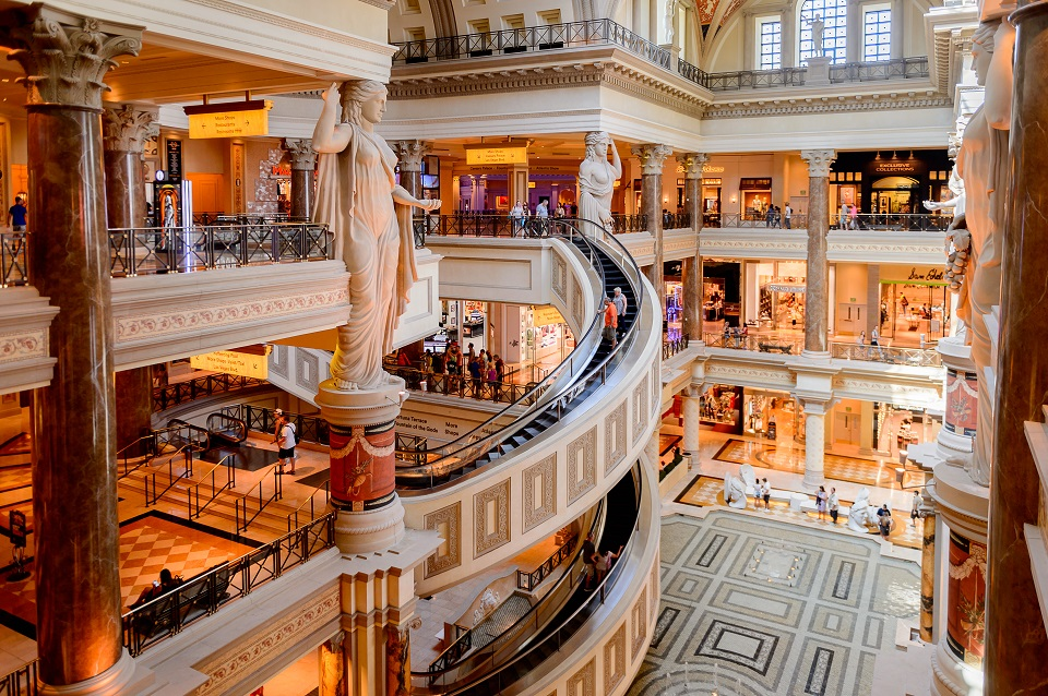 Best places to visit - The Forum Shops at Caesars Palace