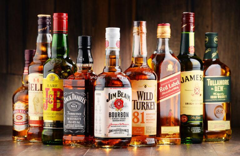 Famous Named Liquors